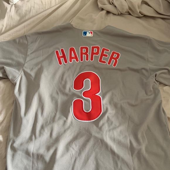 best loved 7be9f c6e1b Bryce Harper Philadelphia Phillies jersey